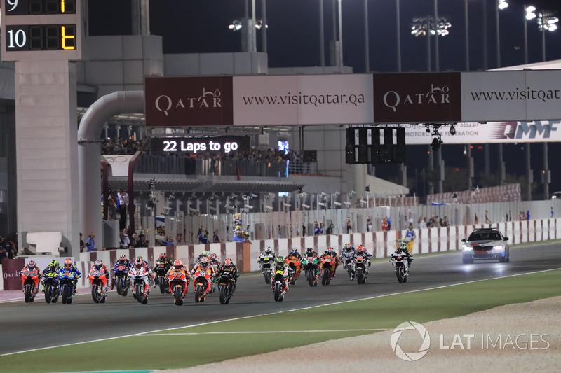 6. Arrancada MotoGP