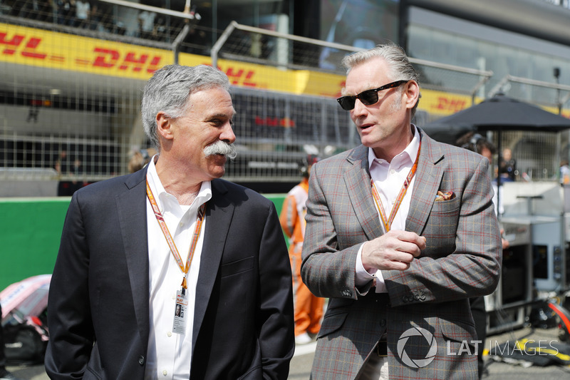 Chase Carey, Chairman, Formula One, and Sean Bratches, Managing Director of Commercial Operations, F