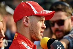 Sebastian Vettel, Ferrari parle aux médias