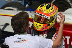 Ganador de la carrera Rio Haryanto, Campos Racing