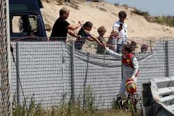 Robin Frijns, Audi Sport Team Abt Sportsline con fans