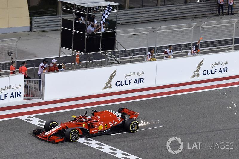 GP de Bahrein: Sebastian Vettel