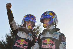 I Campioni del Mondo Sébastien Ogier, Julien Ingrassia, Ford Fiesta WRC, M-Sport