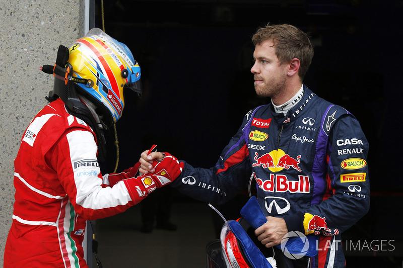 5º - Fernando Alonso – 30 GPs entre 2013 e 2014