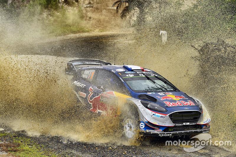 Себастьен Ожье, M-Sport(WRC, чемпион, 232 очка, две победы и семь подиумов)