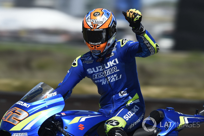 Podio: Alex Rins, Team Suzuki MotoGP