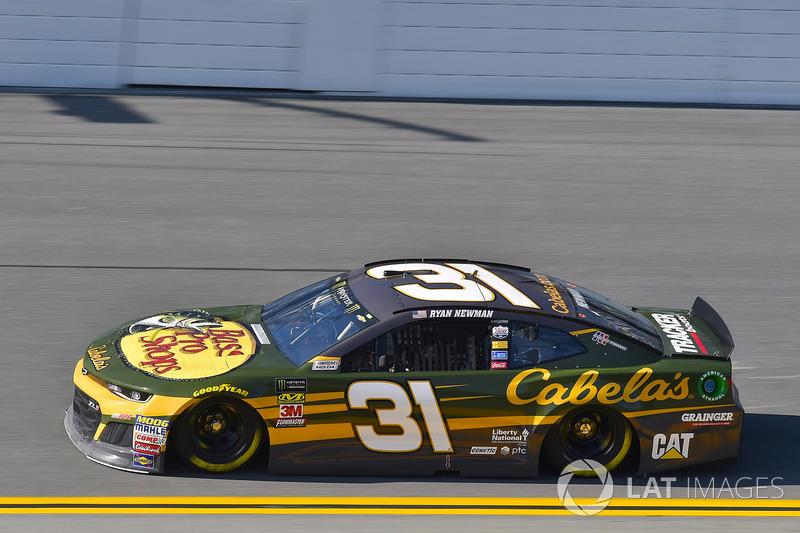 13. Ryan Newman, No. 31 Richard Childress Racing Chevrolet Camaro