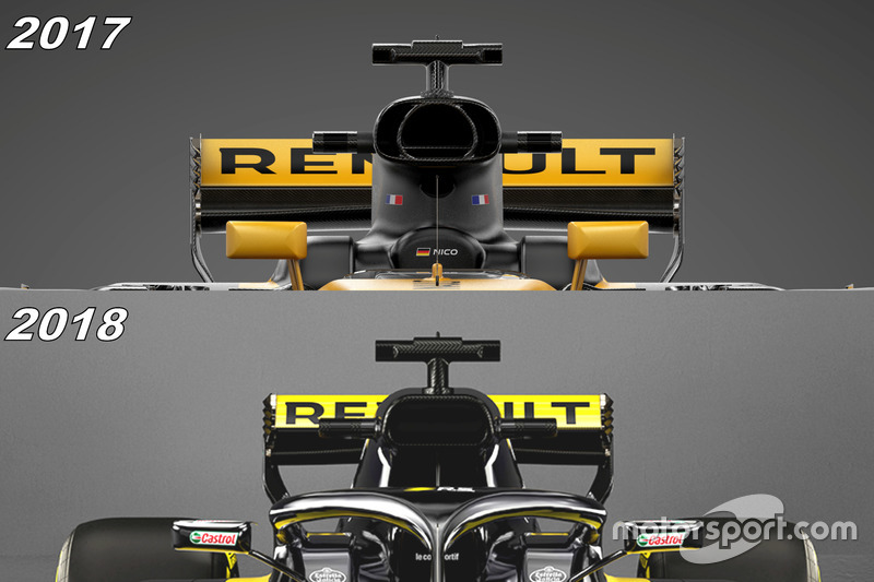 formel 1 technik hat renault beim rs18 etwas zu verbergen. Black Bedroom Furniture Sets. Home Design Ideas