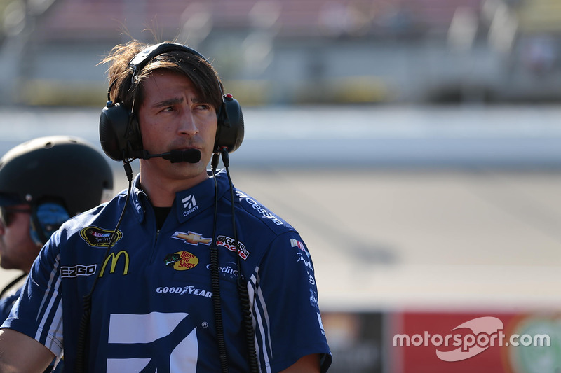 Matt McCall, crew chief of Jamie McMurray, Chip Ganassi Racing Chevrolet