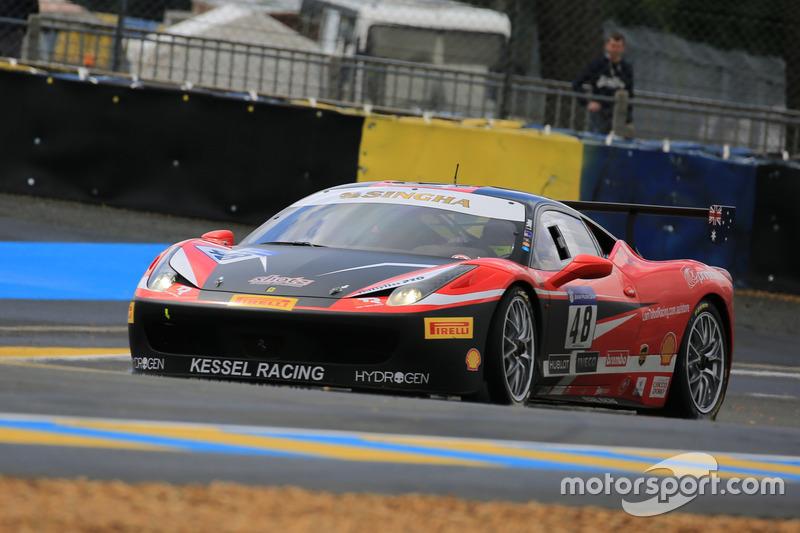 #48 Kessel Racing Ferrari 458 Challenge Evo: Liam Talbot