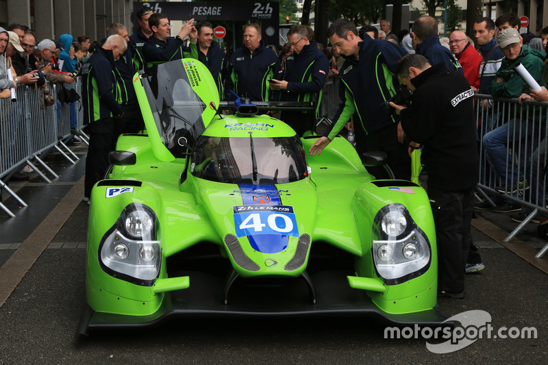 #40 Krohn Racing Ligier JS P2 Nissan