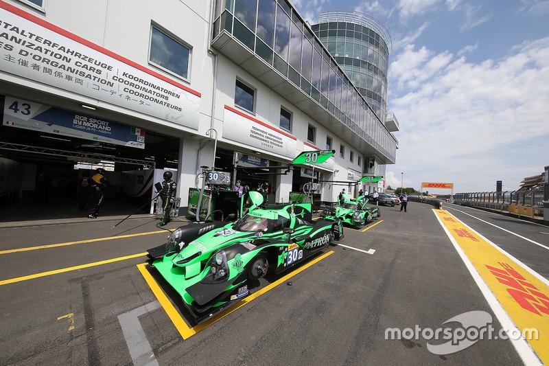 11. LMP2: #30 Extreme Speed Motorsports, Ligier JS P2 - Nissan
