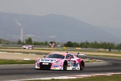 #25 BWT Mücke Motorsport Audi R8 LMS: Ricardo Feller, Christopher Haase