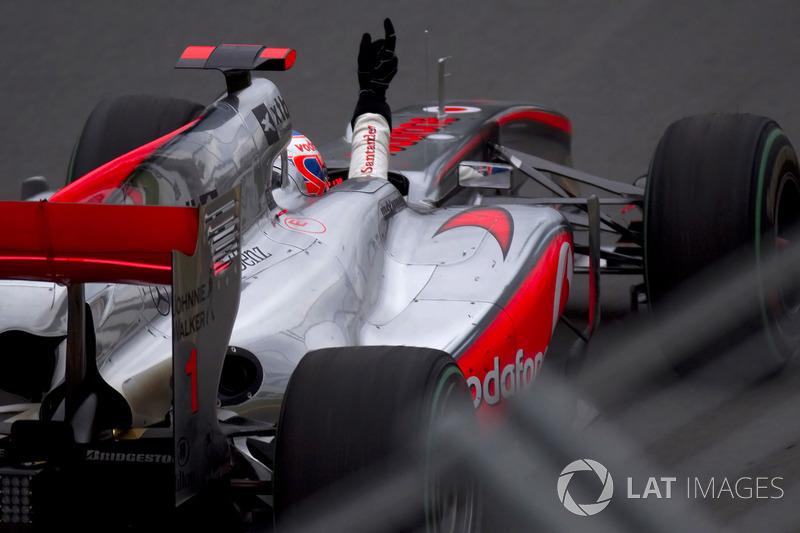 2010. Переможець: Дженсон Баттон, McLaren MP4-25 Mercedes