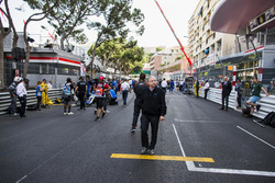 Jean Todt, President, FIA, on the grid