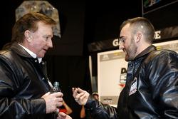 Austin Dillon, Richard Childress Racing Chevrolet Camaro met eigenaar Richard Childress