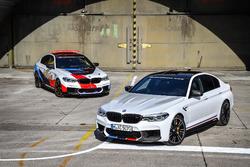 Le safety car MotoGP BMW M5 avec la BMW M5