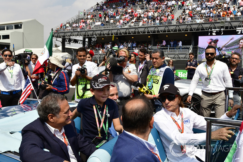Alejandro Soberon, President and CEO for CIE Group and President of Formula 1 Gran Premio de Mexico and Chase Carey, Chief Executive Officer and Executive Chairman of the Formula One Group