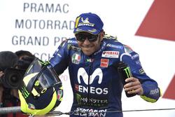 Podium: second place Valentino Rossi, Yamaha Factory Racing