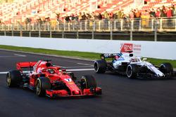 Essai de départ de Kimi Raikkonen, Ferrari SF71H