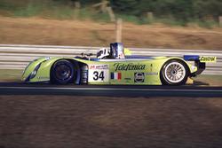#34 Reynard 2KQ LM Volkswagen: Jean-Christophe Boullion, Jordi Gené, Jérome Policand