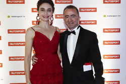 Paddy Lowe, Williams Martini Racing Formula 1. and wife