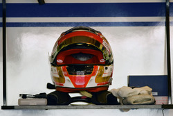 The helmet of Charles Leclerc, Sauber