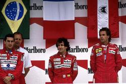 Podium: 1. Alain Prost, McLaren; 2. Ayrton Senna, McLaren; 3. Gerhard Berger, Ferrari