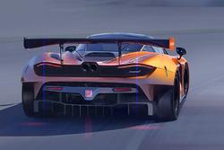 Rendu de la McLaren 720S GT3