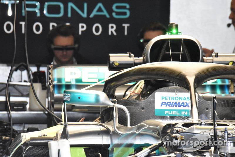 Mercedes AMG F1 W09 ayna