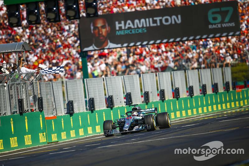 GP de Hungría: Lewis Hamilton