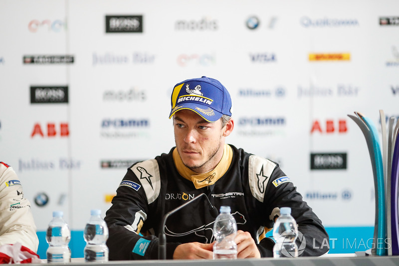 Andre Lotterer, Techeetah, in the post race press conference