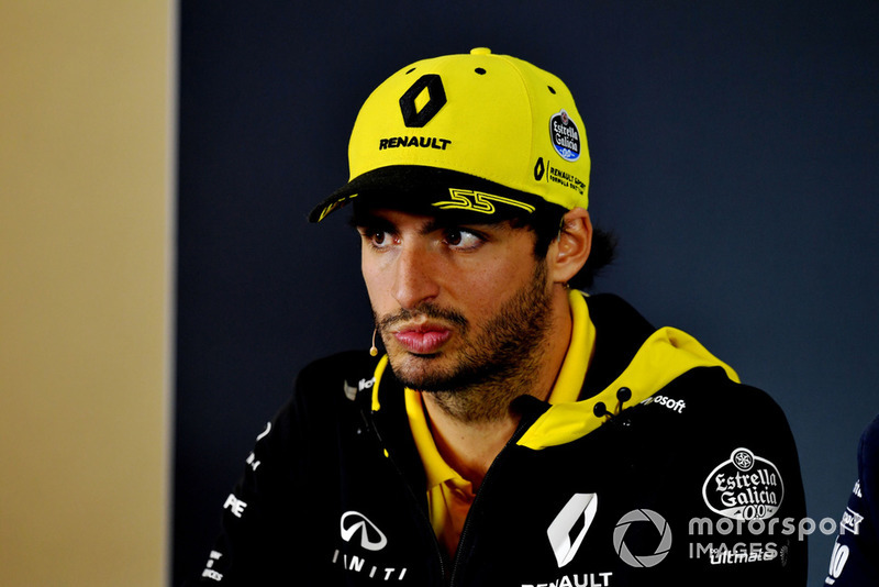 Carlos Sainz Jr., Renault Sport F1 Team in Press Conference
