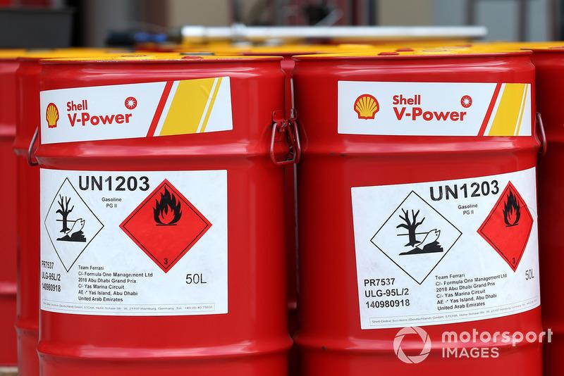 Barili di carburante Shell