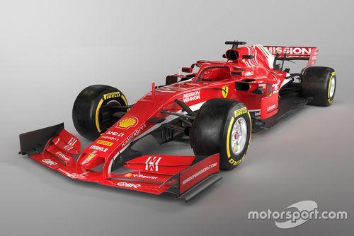 Rendering Ferrari F1 2019