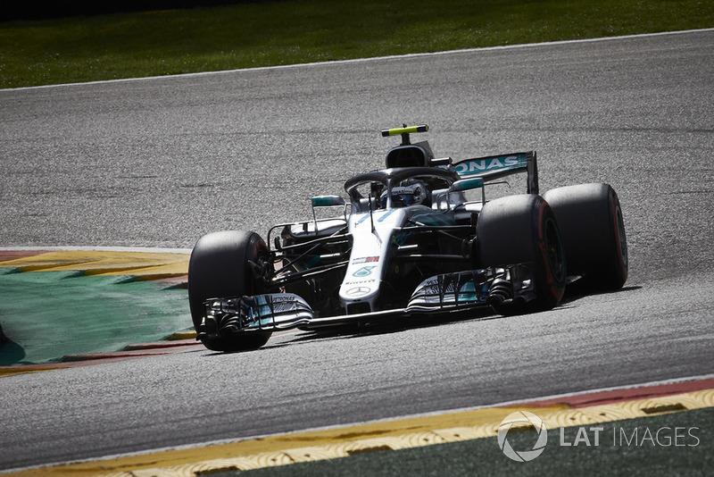 4. Valtteri Bottas, Mercedes AMG F1 W09