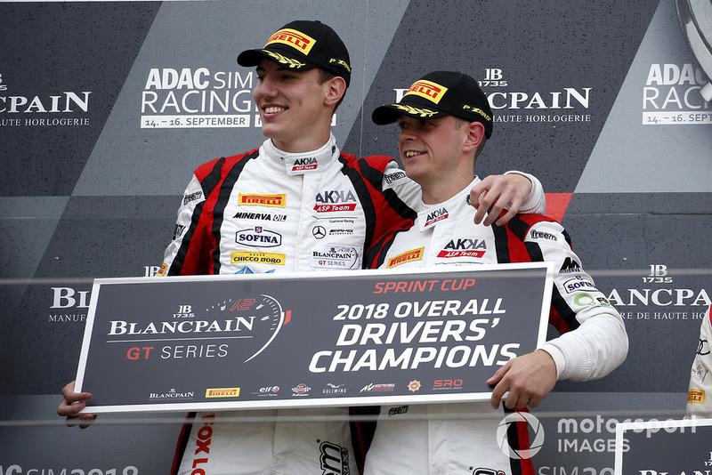 Blancpain GT Series (Sprint Cup): Raffaele Marciello y Michael Meadows