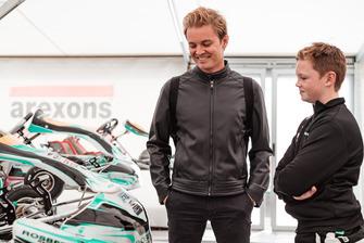Nico Rosberg et Taylor Barnard