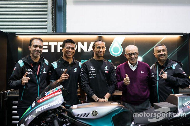 Datuk Razlan Razali, Petronas Yamaha SRT, Lewis Hamilton, Carmelo Ezpeleta, CEO Dorna
