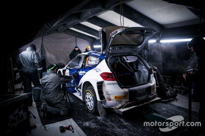 Валттері Боттас, Тімо Раутіаінен, M-Sport Ford Fiesta