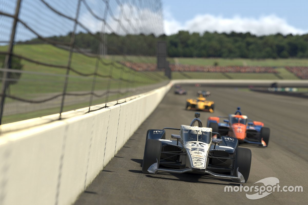 Indycar iRacing Challenge : Manche 4