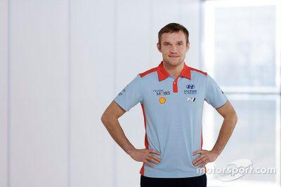 Отт Тянак в Hyundai Motorsport