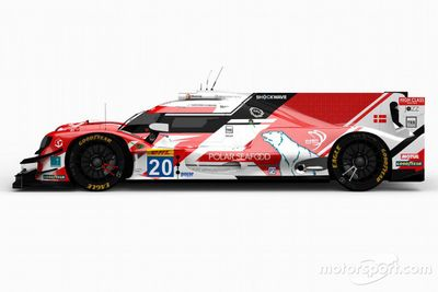 High Class Racing livery unveil