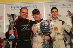 Patrik Zajelsnik, Marcel Steiner, Pierre Courroye, podio