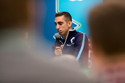 Press Conference:  Sébastien Buemi, Renault e.Dams.