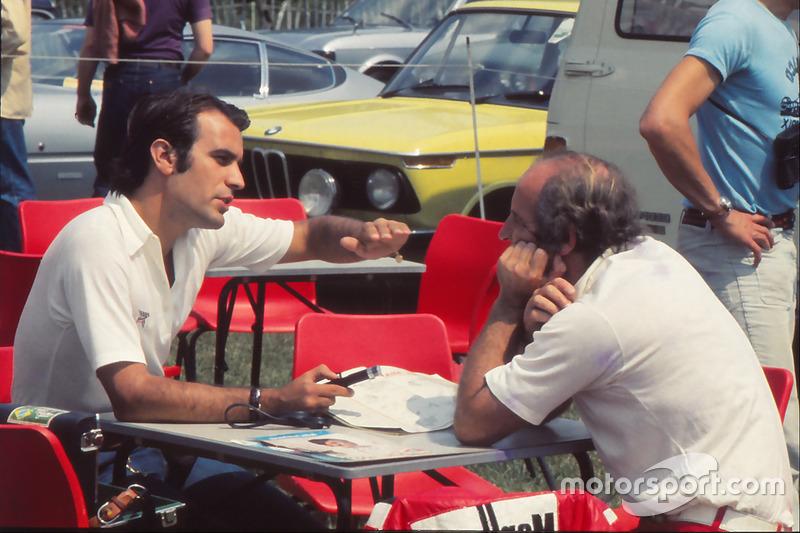 Giorgio Piola con Denny Hulme