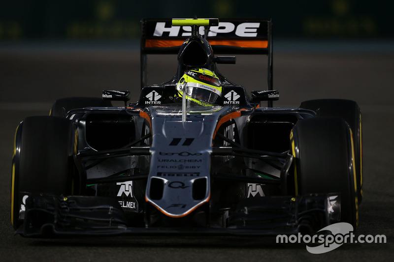 Séptimo en el campeonato de pilotos, GP de Abu Dabi 2016