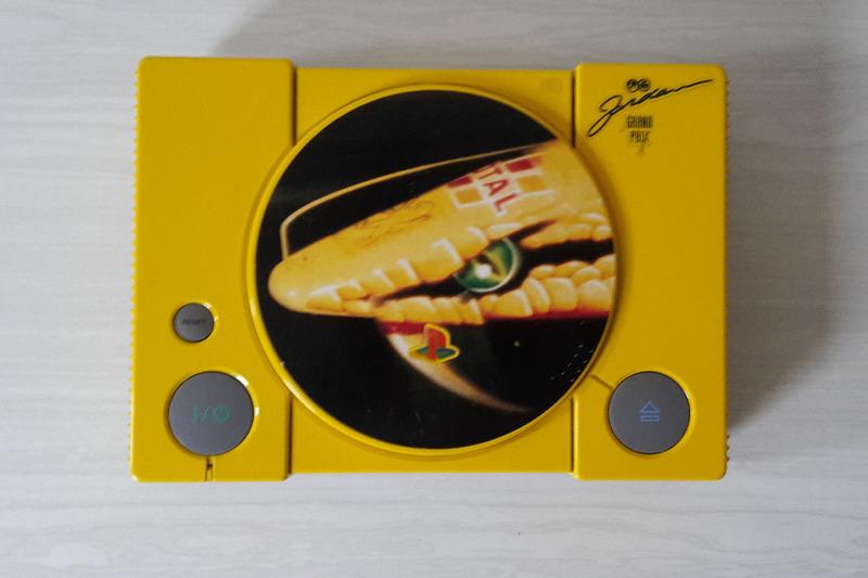 PlayStation 1 в стиле Jordan