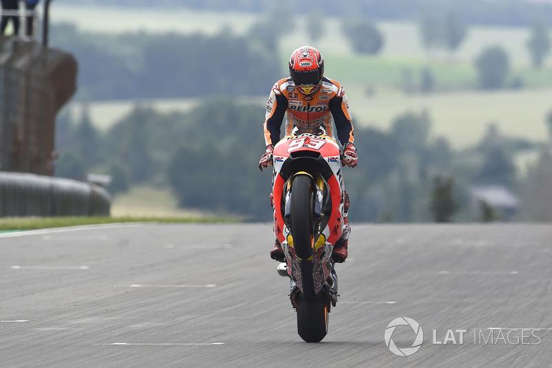 Marc Márquez, Repsol Honda Team, se lleva la victoria
