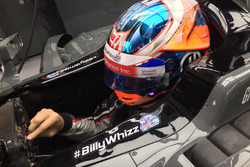 Romain Grosjean, Haas F1 Team VF-17 with #BillyWhizz signage